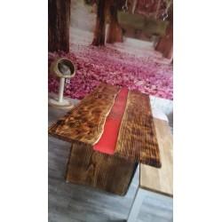 Epoxidharz-Tisch